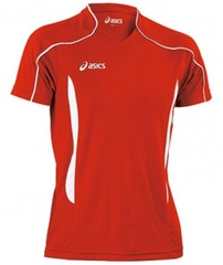Мужская волейбольная футболка Asics T-shirt Volo (T604Z1 2601) красная