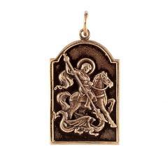 Святой Георгий Победоносец кулон