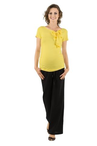 Брюки для беременных 02595 чёрный