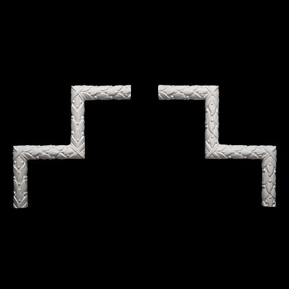 Угловой элемент Европласт из полиуретана 1.52.303, интернет магазин Волео