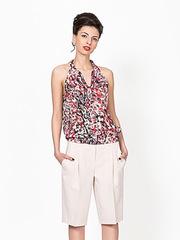 B040-95z блузка женская, цветная