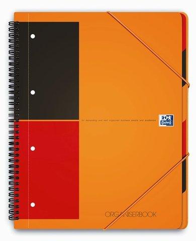 Бизнес-тетрадь International OrganiserBook A4+ (24.5*31см) линейка 80л пластиковая обложка