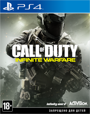 Sony PS4 Call of Duty: Infinite Warfare (русская версия)