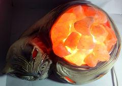 Солевая лампа Кот 3,45кг