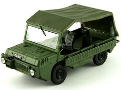 LUAZ-967 khaki 1:43 DeAgostini Auto Legends USSR #66