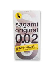 Полиуретановые презервативы SAGAMI Original 002 (количество штук на выбор)
