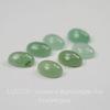 Кабошон овальный Авантюрин зеленый 8х6 мм
