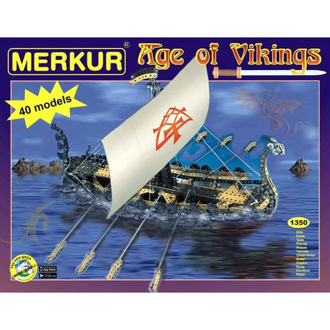 Merkur M-3390 Металлический конструктор Age of Vikings