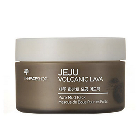 THE FACE SHOP Jeju Маска для лица с вулканической лавой Jeju Volcanic Lava pore mud pack