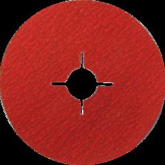 Фибровый шлифовальный диск DRONCO Special AK Korn 36+  125X22,23