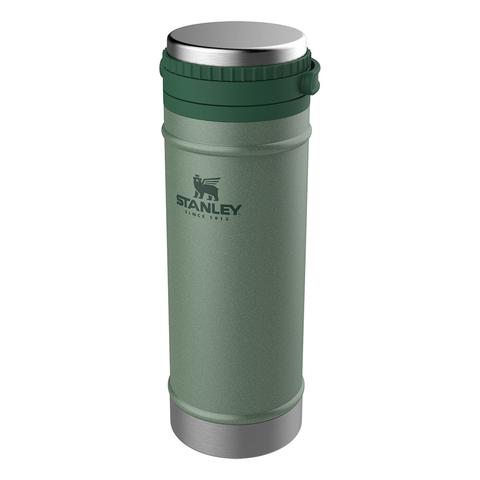 Термокружка с прессом Stanley Classic (0,47 литра), темно-зеленая