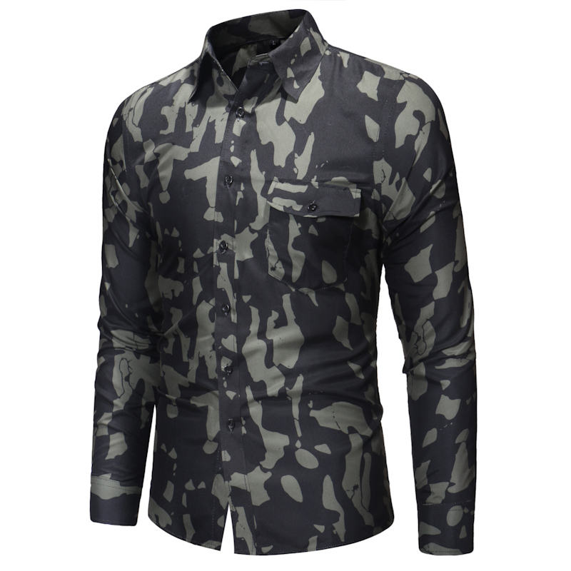 Мужская рубашка Slim Fit army O1CN0123Co3EUEcFS4Quw___766667220.jpg