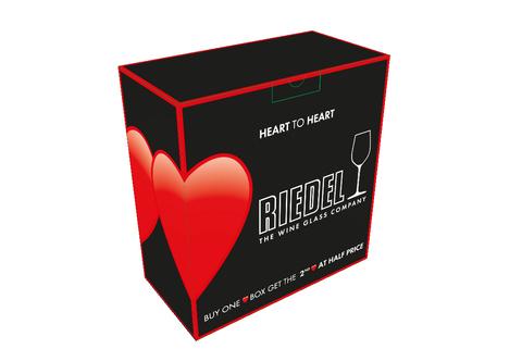 Набор из 2-х бокалов для шампанского Celebration Champagne Glass 330 мл, артикул 6409/28. Серия Heart To Heart