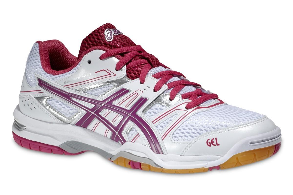 Женские кроссовки для волейбола Asics Gel-Rocket 7 (B455N 0119) розовые
