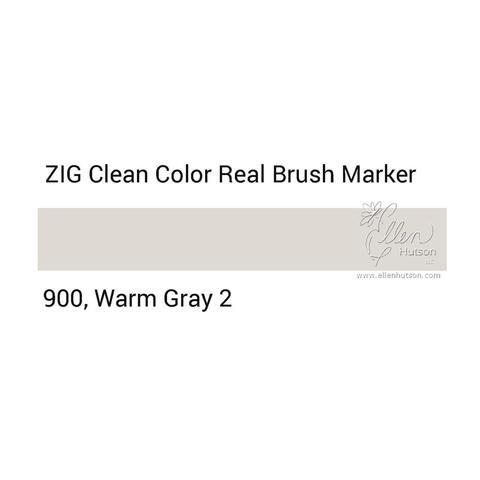 Маркер акварельный ZIG Clean Color Real Brush- штучно - 900