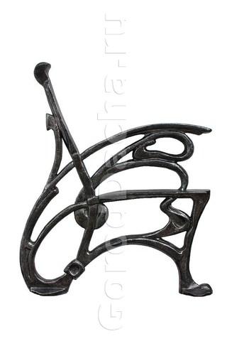 Комплект чугунных опор для скамейки «Стиль»