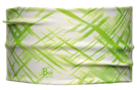 Headband Buff CROSS BLANC/VERD