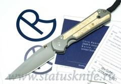 Нож Chris Reeve Knives Large Sebenza 21 Box Elder burl Inlay