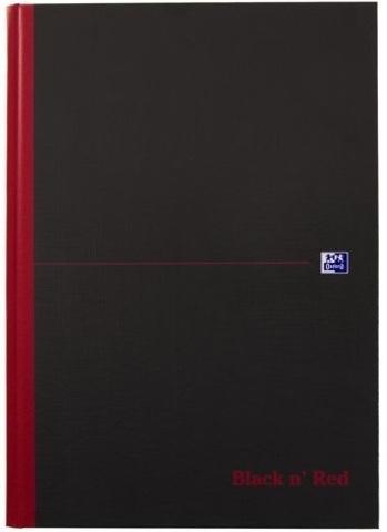 Блокнот Black n' Red A4 (21*29.7см) клетка 96л твердая обложка