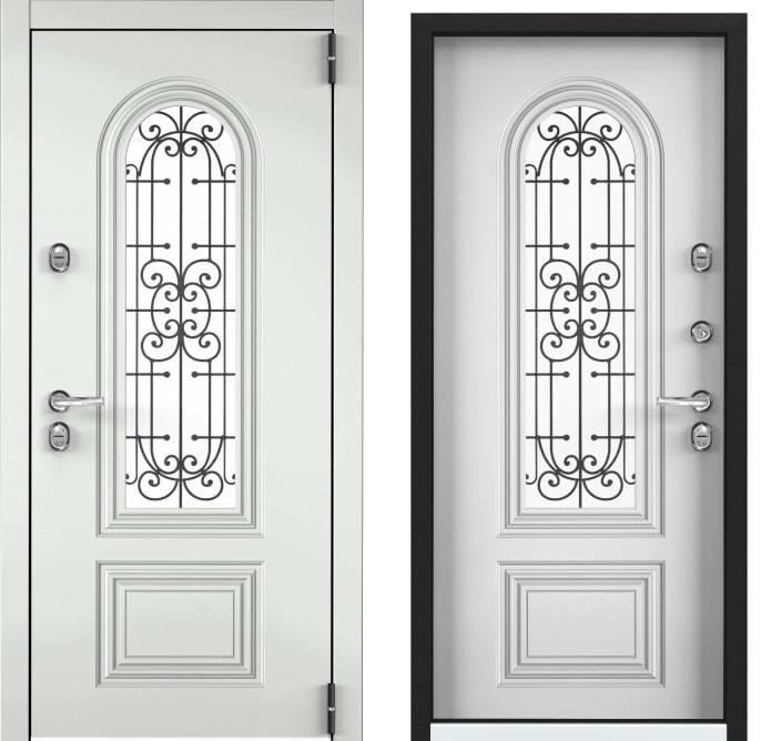 Входные двери Torex Snegir Cottege 02 SNG-2 белый SNG-2 белый generated_image.jpg