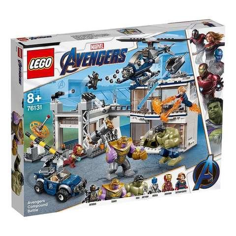 LEGO Super Heroes: Битва на базе Мстителей 76131 — Avengers Compound Battle — Лего Супергерои Марвел