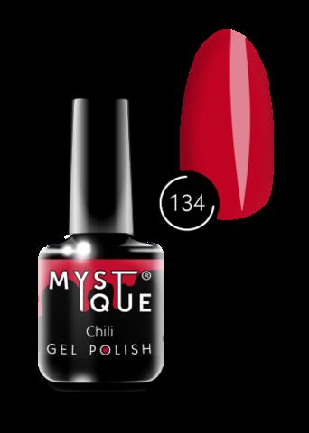 Mystique Гель-лак #134 «Chili» 15 мл