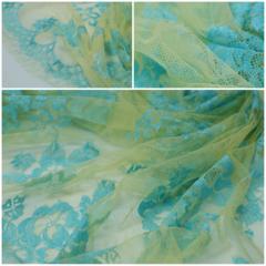 Кружевное полотно RM Jaune/Turquoise