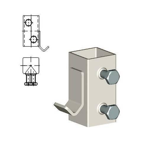 Кронштейн для напольной стойки ТВЕК.12.9.new (для радиаторов COPA)