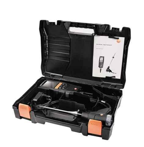 Комплект газоанализатора testo 320 с Н2-компенсацией. Включая зонд отбора пробы (0660 9741), блок питания (0554 1104), запасные фильтры зонда (0554 0440), кейс (0516 3334), Описание газоанализатора testo 320 (арт: 0563 3221)