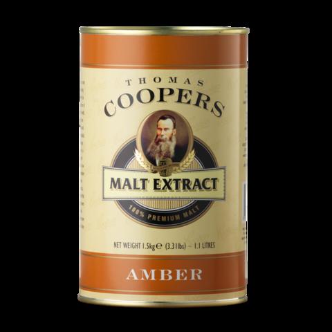 Неохмеленный солодовый экстракт Coopers Amber