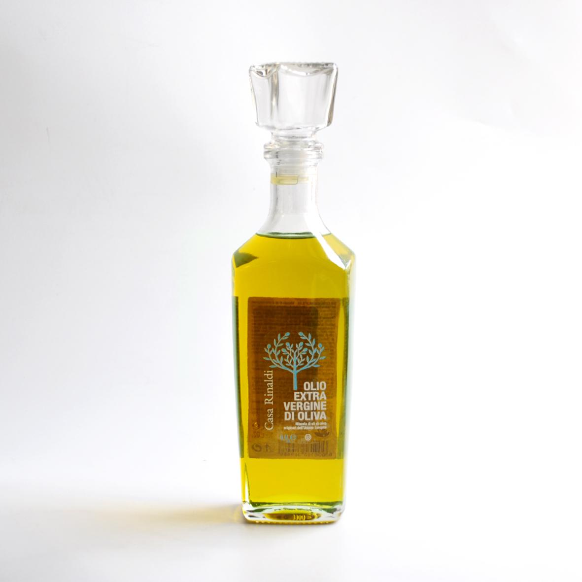 Масло Casa Rinaldi оливковое нерафинированное фильтрованное Extra Vergine в графине 500 мл