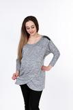 Блузка для беременных 08884 серый