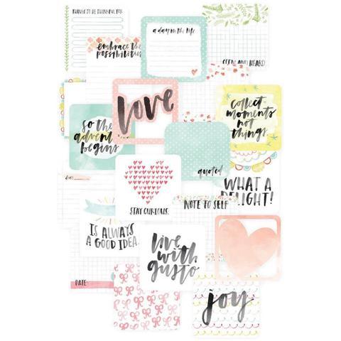 Набор карточек  Inspire для Project Life