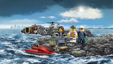 LEGO City: Остров воришек 60131 — Crooks Island — Лего Сити Город