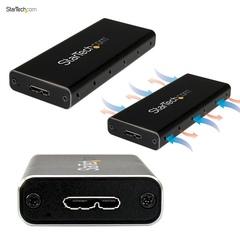Корпус для жесткого диска StarTech для SSD M.2 NGFF USB 3.1 SATA 10ГБс USB-C to Micro USB-B