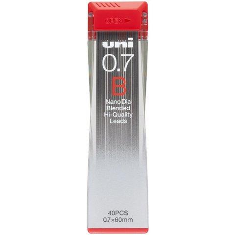Грифели 0,7 мм Uni NanoDia B