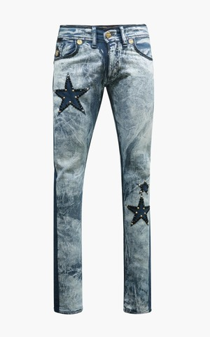Джинсы The Saints Sinphony STAR RACER JEAN MEDUIM BLUE WASH
