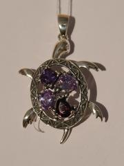 Черепаха (серебряный кулон)
