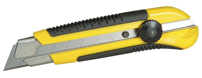Нож с 25мм лезвием с отламывающимися сегментами Dynagrip Stanley 1-10-425