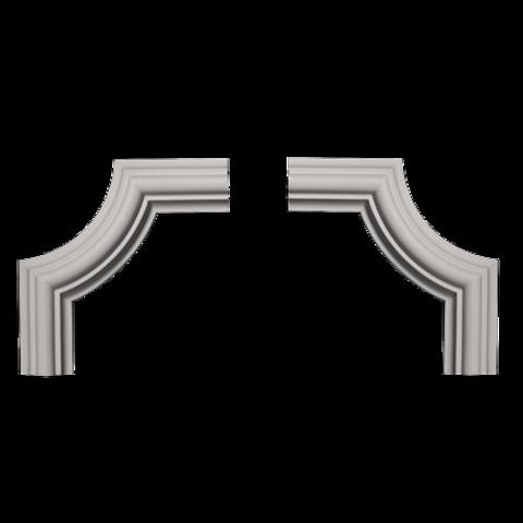 Угловой элемент Европласт из полиуретана 1.52.308, интернет магазин Волео