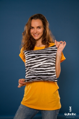 Подушка декоративная «Зебра»-2