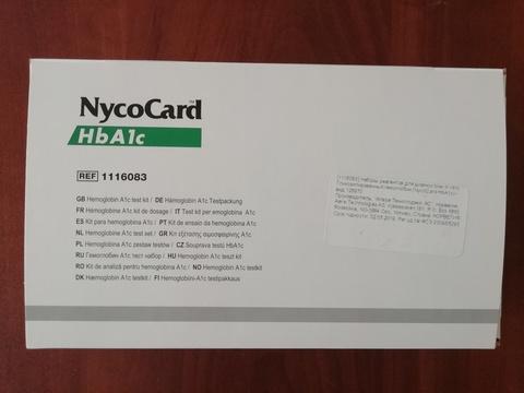 Тест-система для определение гликолиз.гемоглобин в крови человека Никокард (NycoCard HbA1c),24 теста