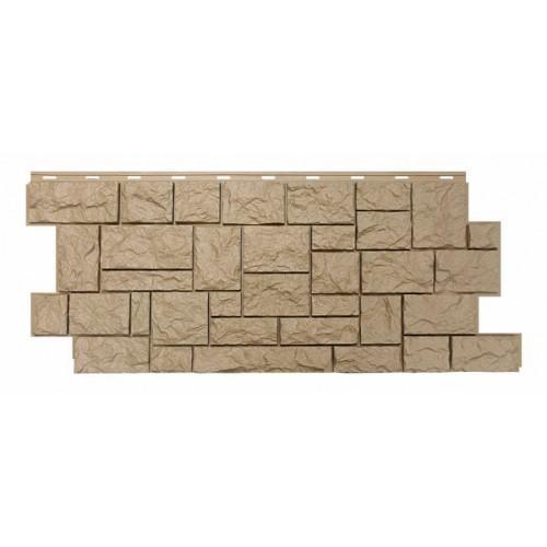 Фасадные панели (Цокольный Сайдинг) Nordside (Нордсайд) Северный Камень Бежевый