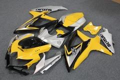 Комплект пластика для мотоцикла Suzuki GSX-R600/750 08-10 Желто-Серый