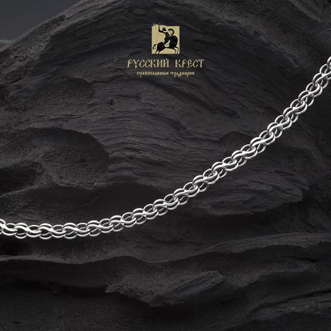 серебряная цепь мужская толстая на шею