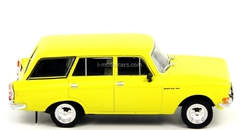 Moskvich-2137 bright yellow 1:43 DeAgostini Auto Legends USSR #133