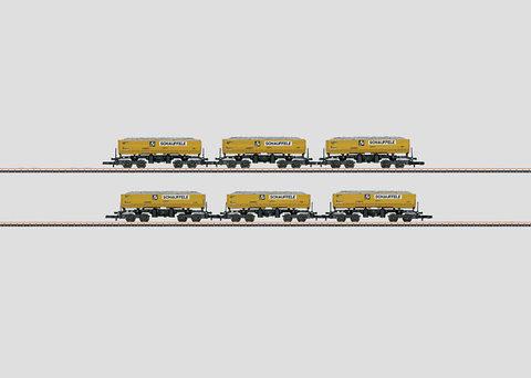 Набор грузовых вагонов Marklin Z 82434
