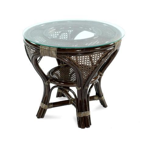 Стол кофейный «Мокко» из ротанга