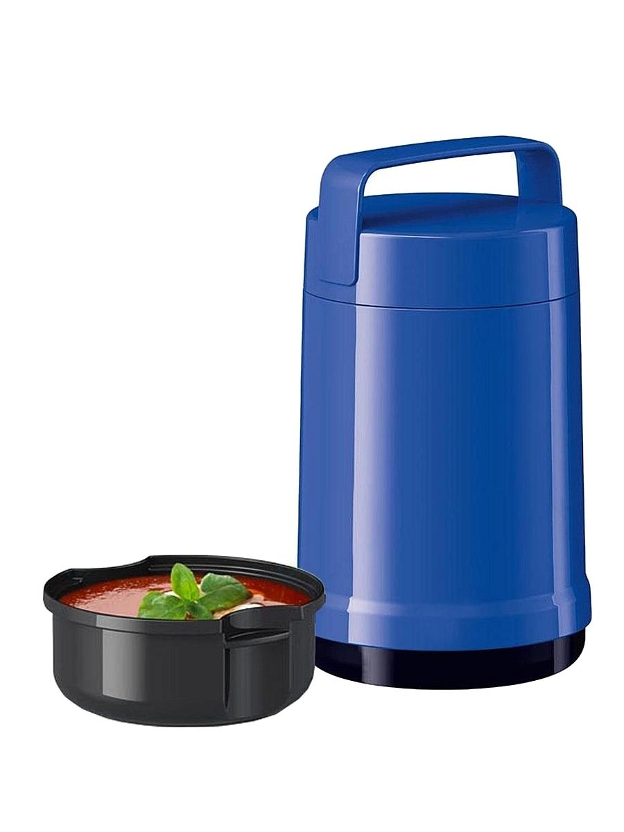 Термос для еды Emsa Rocket (1,4 литра) 2 контейнера, синий*
