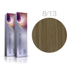 Wella Professional Illumina Color 8/13 (Светлый блонд пепельно-золотистый) - Стойкая крем-краска для волос